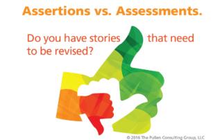 Assertion vs assessment